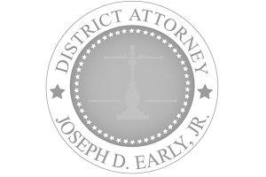 Worcester DA Office logo greyscale