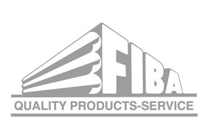 FIBA Technologies logo greyscale