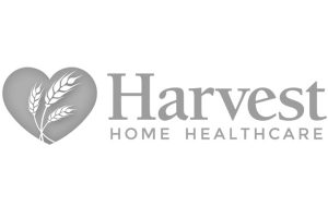 Harvest Home Healthcare logo greyscale
