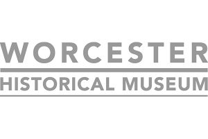 Worcester Historical Museum logo greyscale