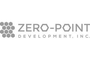 Zero-Point Development logo greyscale