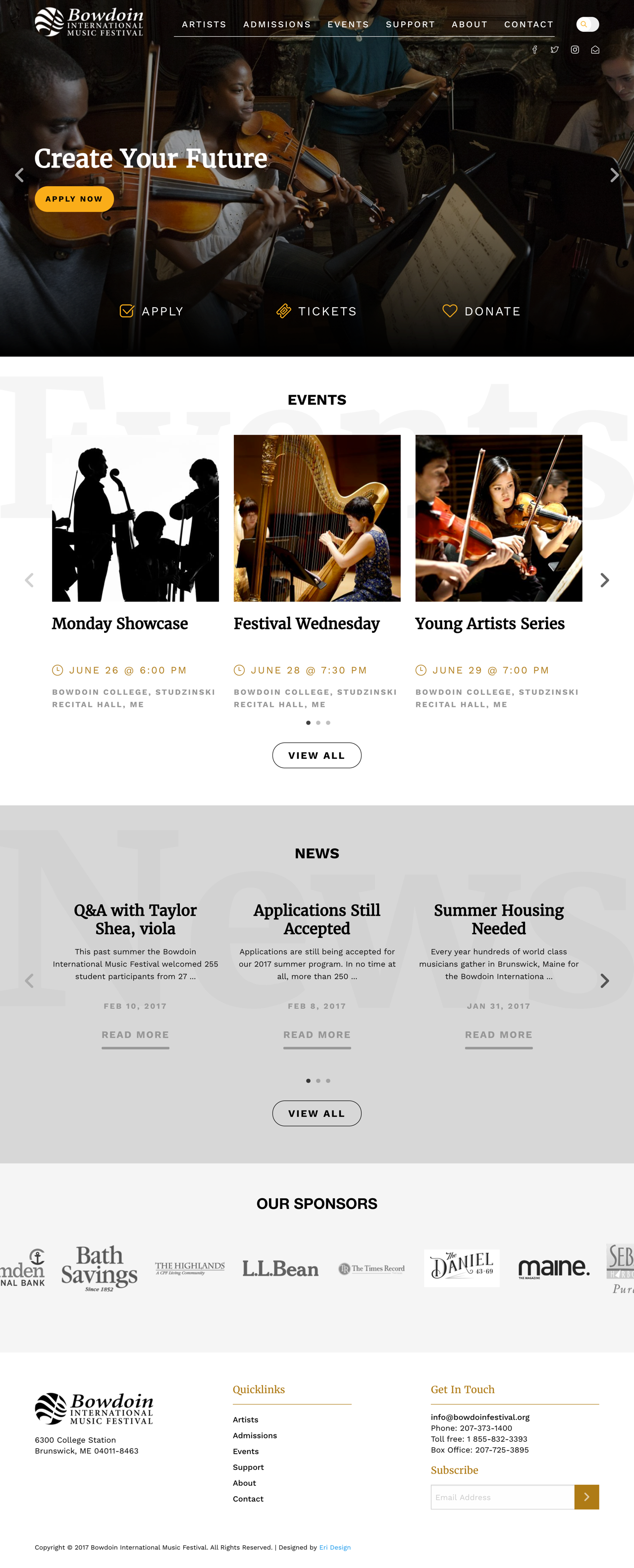 Bowdoin Full Landing Page