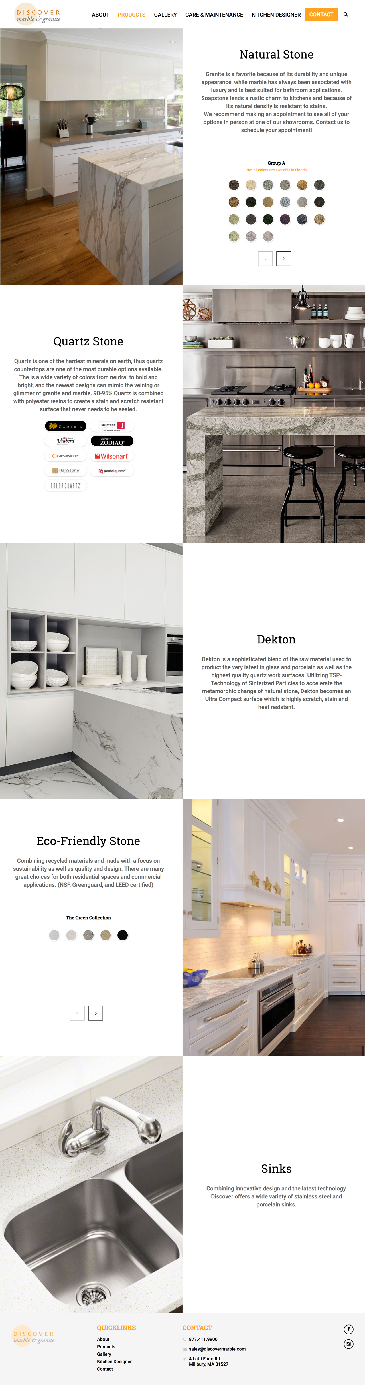 Discover Marble Full Product Showcase