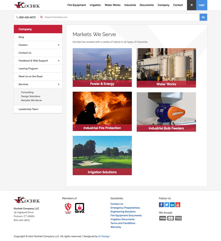 Kochek Services Page