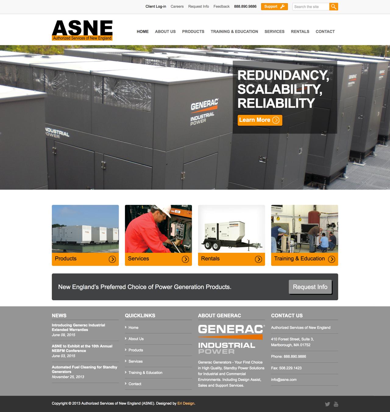 ASNE Full Landing Page