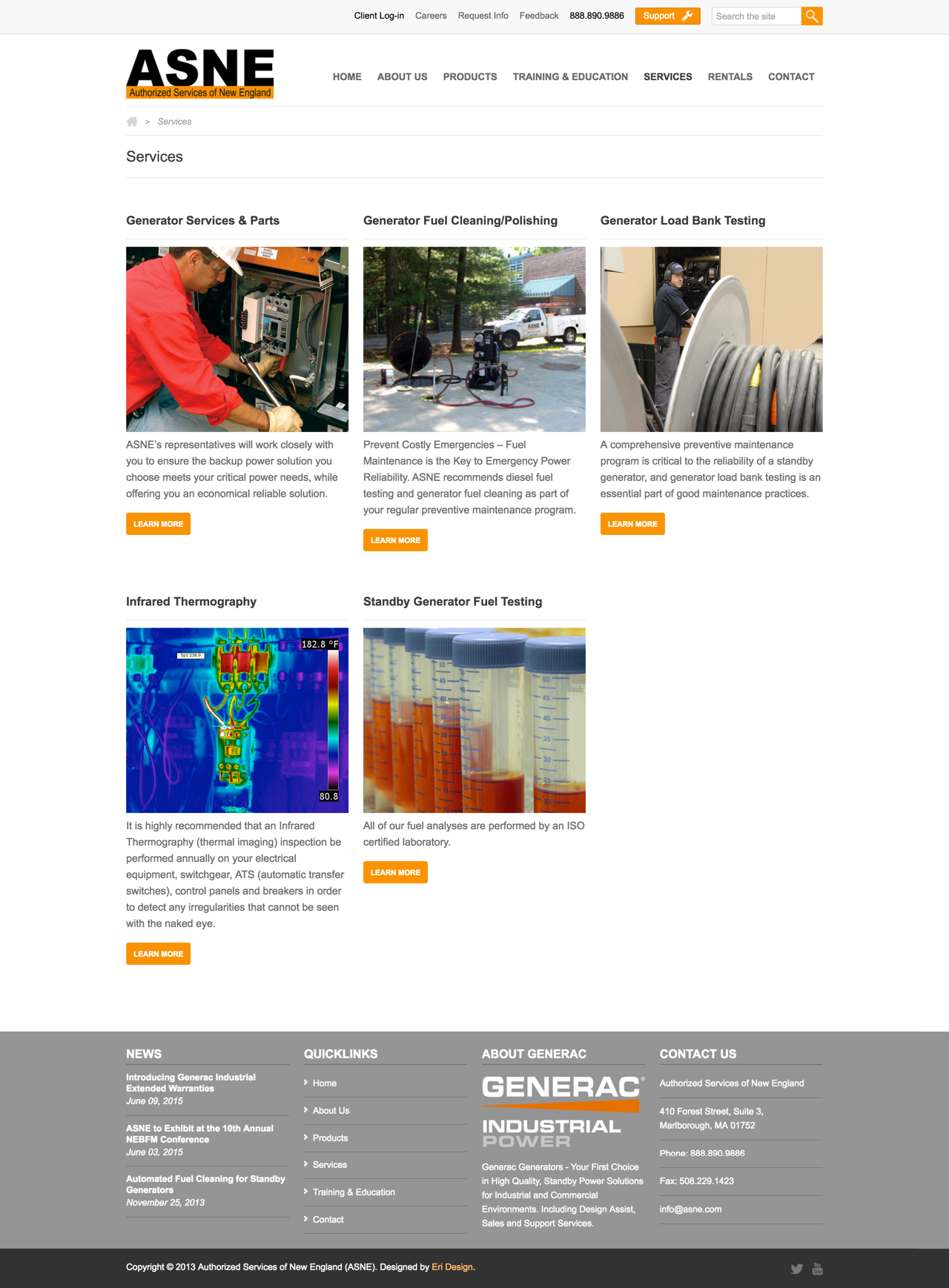 ASNE Full Services Page