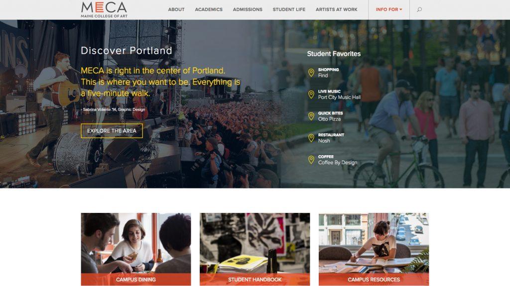 Higher Education WordPress Website