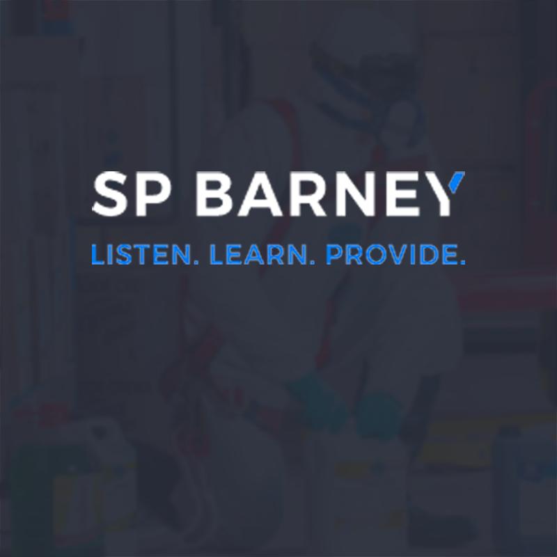 SP Barney Sales Agency website design