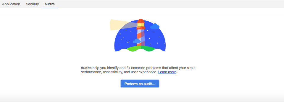 Web Accessibility Audit Performed with Google Lighthouse