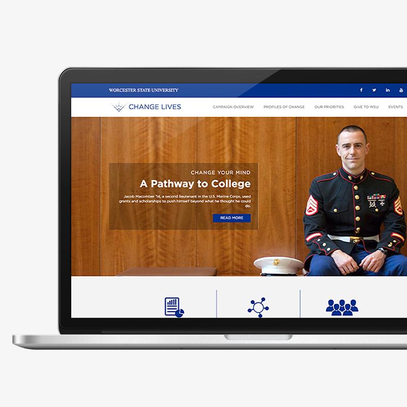 WSU Change Lives website