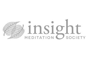Insight Meditation Society logo greyscale