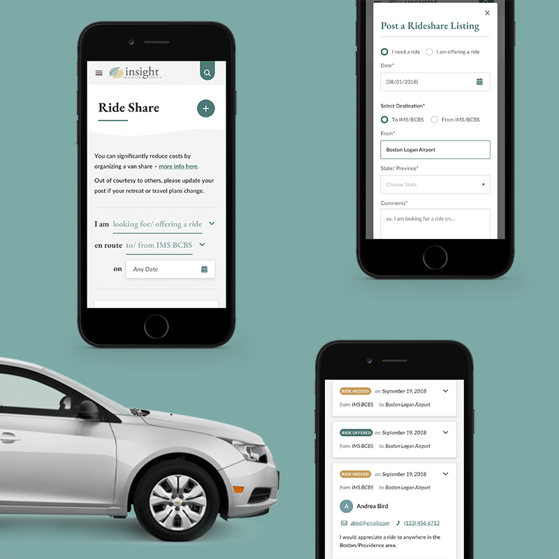 IMS Ride Share application