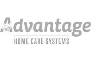 Advantage Home Care Systems logo grey