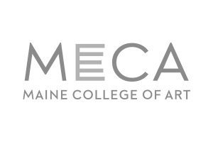 Maine College of Art logo grey