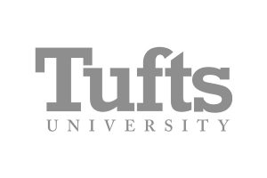 Tufts University greyscale logo