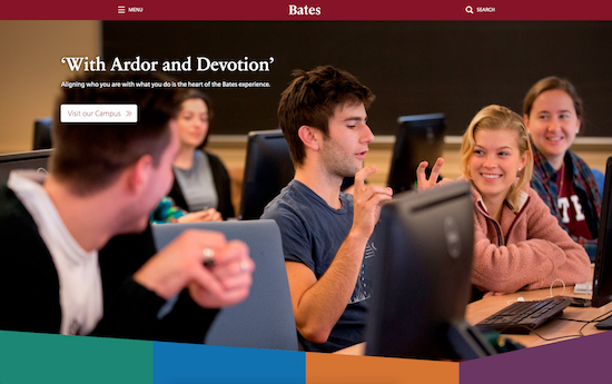 Bates College website