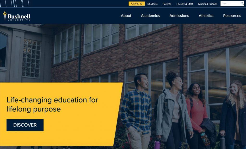 Bushnell University Website
