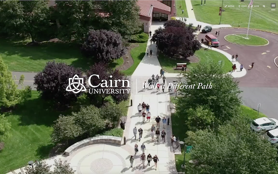 Cairn University website