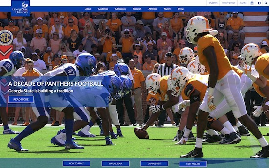 Georgia State University website