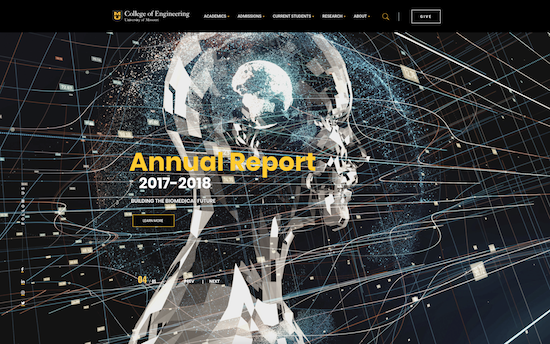 University of Missouri College of Engineering microsite