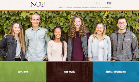 Northwestern Christian University website