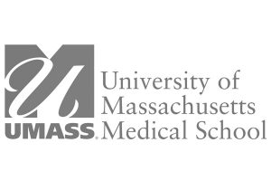 UMass Medical School logo, grey