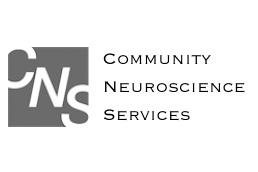 Black and white CNS logo