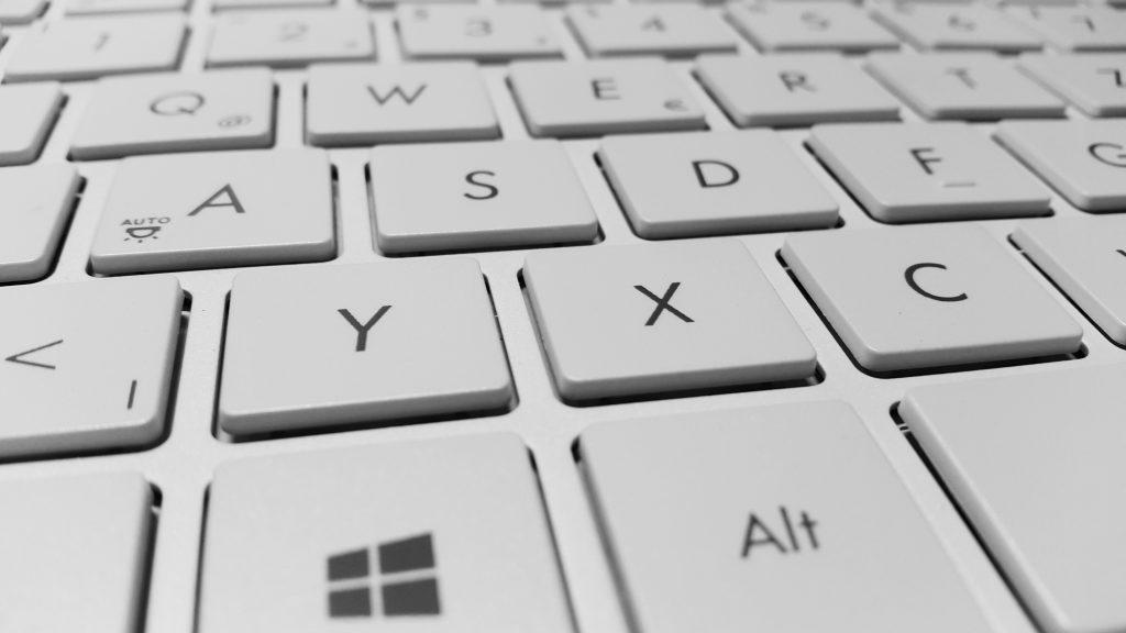 Keys on microsoft keyboard