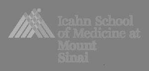Icahn School of Medicine at Mount Sinai Logo-Grey